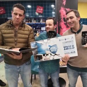 Subcampeones: Juan - Luisito - Chato - Plaza Campeonato Gallego